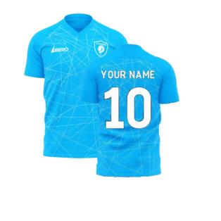 Zenit 2020-2021 Home Concept Football Kit (Libero) (Your Name)