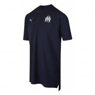 2019-2020 Marseille Casuals Polo Shirt (Peacot)