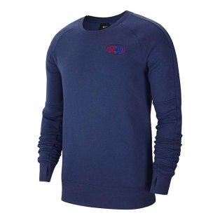 2020-2021 England Fleece Crew Sweatshirt (Navy)