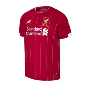 2019-2020 Liverpool Champions Home Shirt