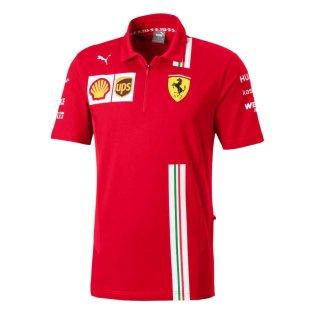 2020 Ferrari Puma Team Polo (Red)