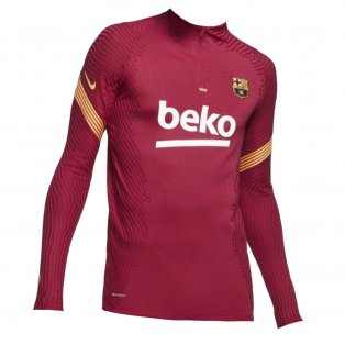 2020-2021 Barcelona Vaporknit Strike Drill Top (Noble Red)