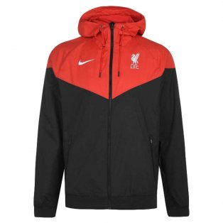 2020-2021 Liverpool Authentic Windrunner Jacket (Black)