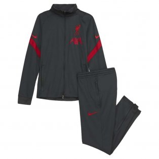 2020-2021 Liverpool Strike Tracksuit (Anthracite) Kids