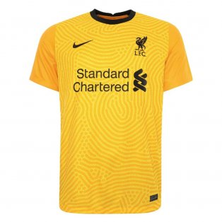 2020-2021 Liverpool Goalkeeper Shirt (Yellow)