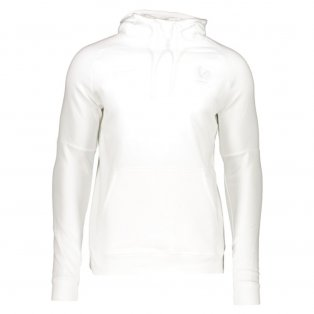 2020-2021 France Core Hooded Top (White)