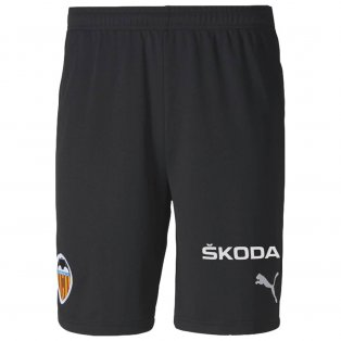 2020-2021 Valencia Home Shorts (Black) - Kids