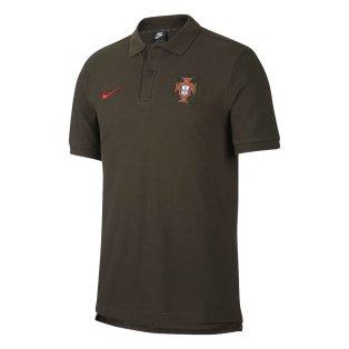2020-2021 Portugal Core Polo Shirt (Sequoia)