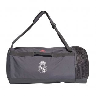 2020-2021 Real Madrid Duffel Bag (Grey)