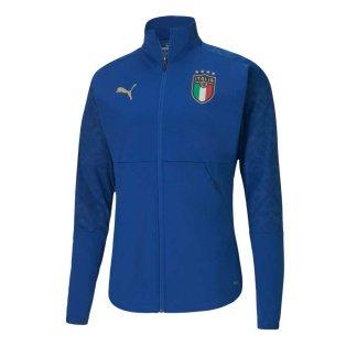 2020-2021 Italy Stadium Home Jacket (Blue)