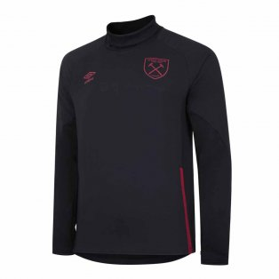 2020-2021 West Ham Drill Top (Black)