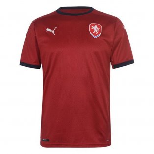 2020-2021 Czech Republic Home Shirt