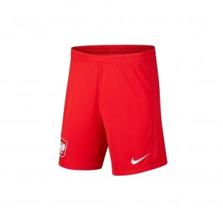 2020-2021 Poland Away Shorts (Red)
