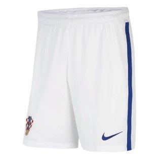 2020-2021 Croatia Home Shorts (White)