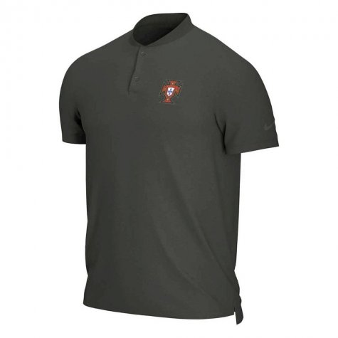 2020-2021 Portugal Authentic Polo Shirt (Sequoia)