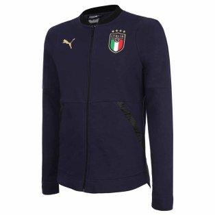 2020-2021 Italy Casuals Hoody Jacket (Peacot)
