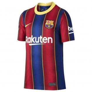 2020-2021 Barcelona Home Shirt (Kids)