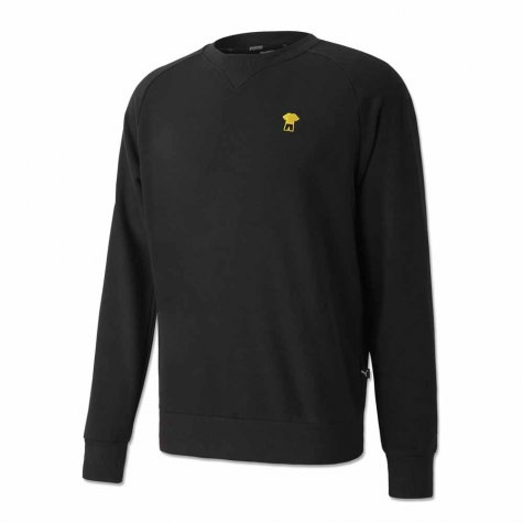2020-2021 Borussia Dortmund FtblFeat Game Sweat Top (Black)