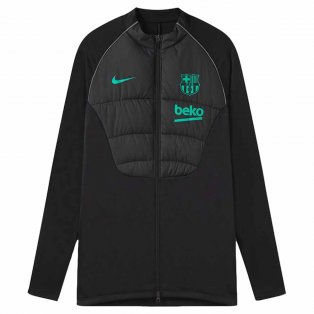2020-2021 Barcelona Strike Winter Warrior Drill Jacket (Black)