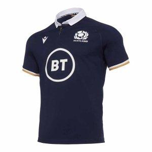 2020-2021 Scotland Home Rugby Replica Shirt