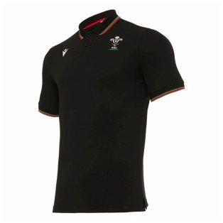 2020-2021 Wales Travel Cotton Piquet Polo Shirt