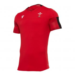 2020-2021 Wales Poly Dry Training Shirt (Red)