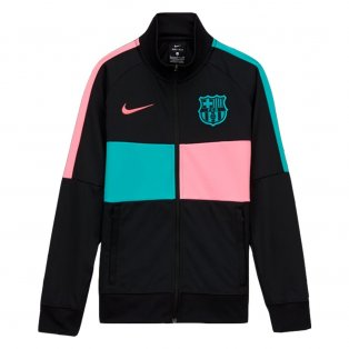 2020-2021 Barcelona CL I96 Jacket (Black) - Kids