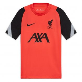 2020-2021 Liverpool CL Training Shirt (Red) - Kids