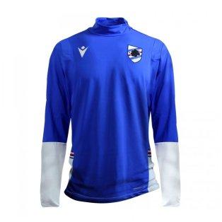 2020-2021 Sampdoria Full Zip Microfibre Jacket (Blue)