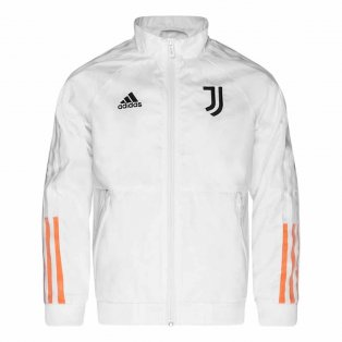 2020-2021 Juventus Anthem Jacket (White) - Kids