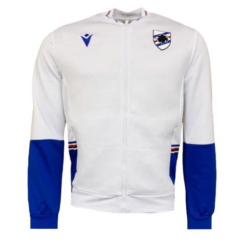 2020-2021 Sampdoria Anthem Jacket (White)