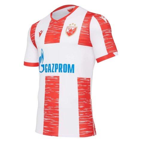 2020-2021 Red Star Belgrade Home Shirt