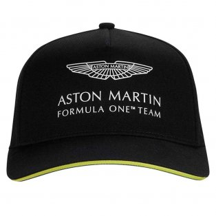 2021 Aston Martin F1 Official Team Lance Stroll Cap - Black
