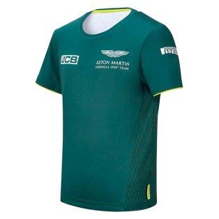 2021 Aston Martin F1 Official Team T-shirt (Kids)
