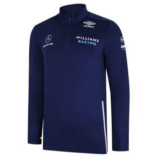 2021 Williams Racing Midlayer Top Medieval Blue