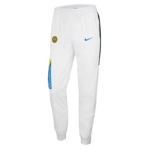 2021-2022 Inter Milan Track Pants (White)