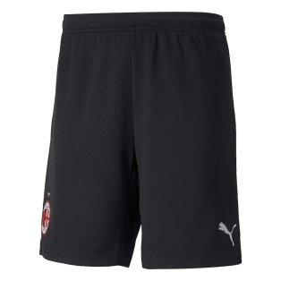 2021-2022 AC Milan Home Shorts (Black)