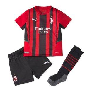 2021-2022 AC Milan Home Mini Kit