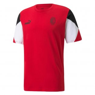 2021-2022 AC Milan FtblCulture Tee (Red)