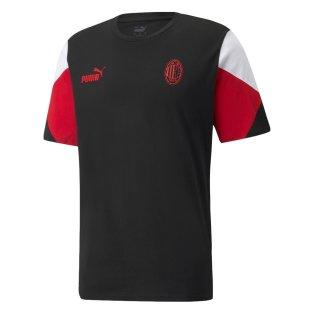 2021-2022 AC Milan FtblCulture Tee (Black)