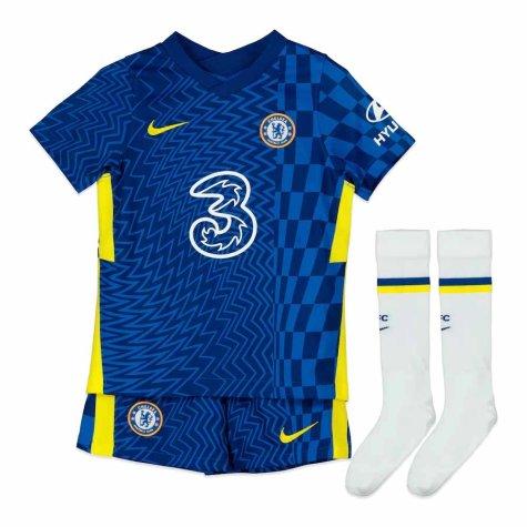 2021-2022 Chelsea Little Boys Home Mini Kit