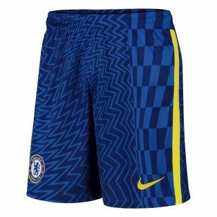 2021-2022 Chelsea Home Shorts (Blue) - Kids