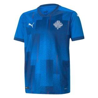 2021-2022 Iceland Home Shirt