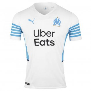 2021-2022 Marseille Authentic Home Shirt
