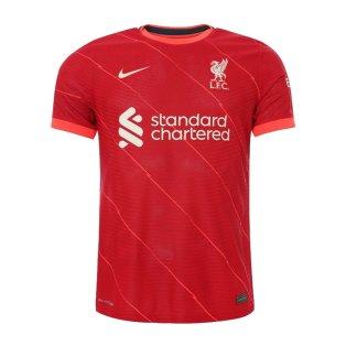 Liverpool 2021-2022 Vapor Home Shirt