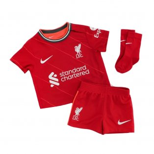 Liverpool 2021-2022 Home Baby Kit