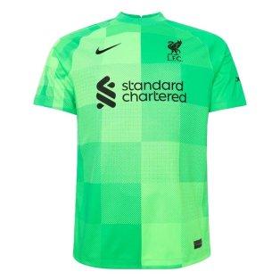 Liverpool 2021-2022 Goalkeeper Shirt (Green)