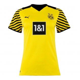 2021-2022 Borussia Dortmund Home Shirt (Ladies)