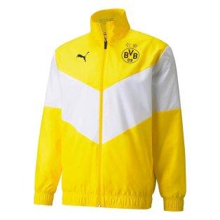 2021-2022 Borussia Dortmund Pre Match Jacket (Yellow)