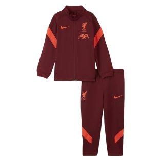 Liverpool 2021-2022 Strike Tracksuit (Team Red) - Infants